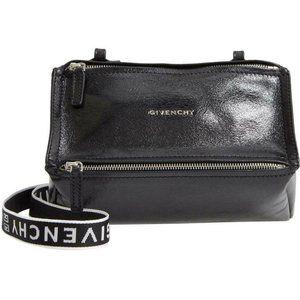Givenchy Mini Pandora Glazed Black Patent Leather